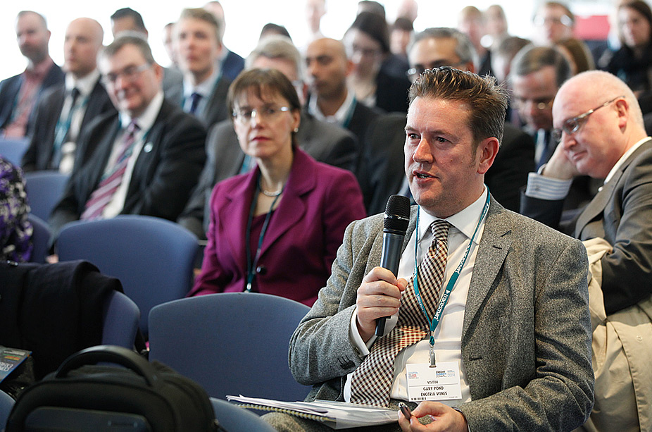 Audience & Delegates at Conference